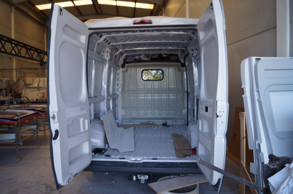 panelado interior de furgonetas n panelado with panelado